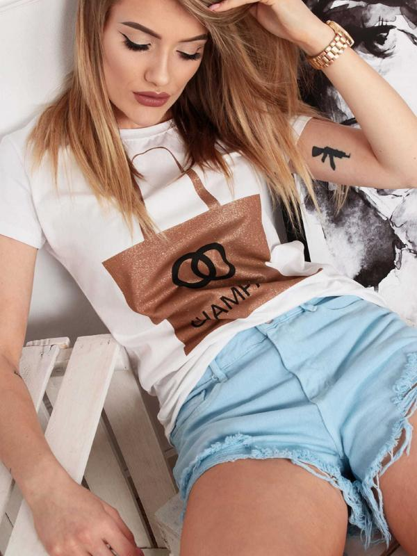 <b>Miss Sissi</b> Destroyed Jeans Shorts