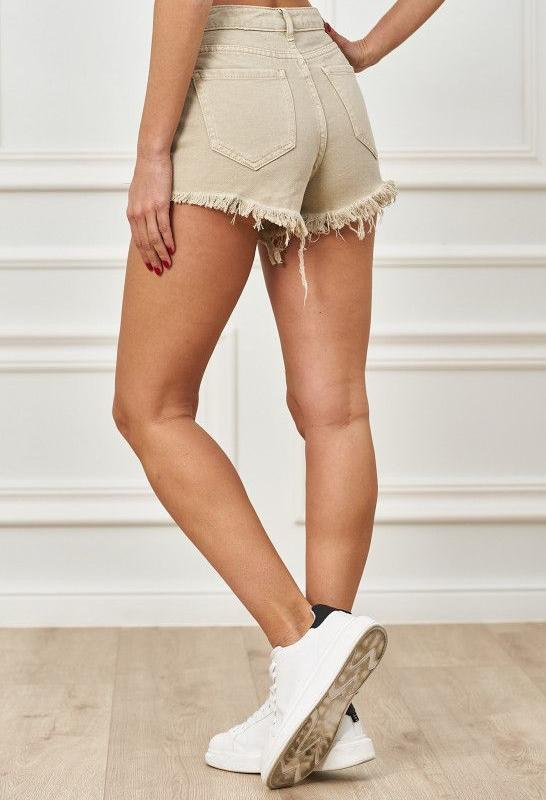 <b>Trendy.ing</b> Destroyed Jeans Shorts